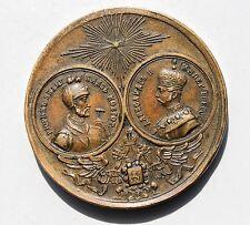 23260 Medaille 1000 J. Russland  Großfürsten Rurik und Kaiser Alexander II. 1862