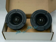 "MOREL MDT-27 28mm 1.1"" Soft Dome Horn High Efficiency Tweeters Pair"