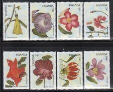 Uganda 612-19 Flowers Mint NH