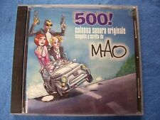 CD  - 500! colonna sonora originale eseguita da MAO