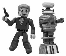 LOST IN SPACE SAN DIEGO COMIC CON EXCLUSIVE MINI MATES FIGURES DR SMITH & ROBOT
