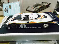 PORSCHE 956 L POSTERIORE LUNGO LE MANS WINNER 1982 #1 Ickx Bell Rothm resin SPARK 1:18