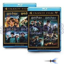 HARRY POTTER LA COLLEZIONE COMPLETA 8 BLURAY BLU RAY IN 2 BOX - SIGILLATI