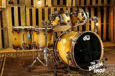DW Drums Collector's Hard Satin Natural Lacquer Specialty