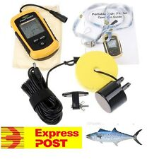 FISH FINDER / DEPTH SOUNDER WITH ALARM, PORTABLE OR FIXED