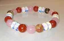 PREGNANCY & CHILDBIRTH MATERNITY - CRYSTAL HEALING GEMSTONE BEADED BRACELET