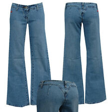° BLUE QUEEN JEANS ° w25-gr. 32 G-string jeas ° nr 14 Denim