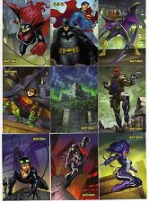 DC Batman Legend by Cryptozic 2012 Set of 63 Cards includes Checklist Card