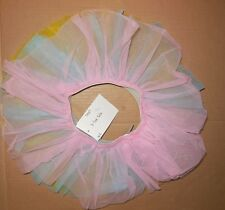 NWT 3 color ballet tutu yellow pink blue small child girls ballerina dress up