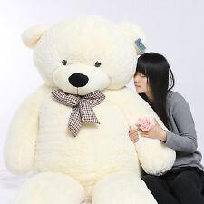 Joyfay® 91'' White Giant Teddy Bear Stuffed Plush Toy Birthday Gift 230cm