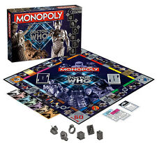 MONOPOLY: DR WHO VILLAINS EDITION BOARD GAME BY USAOPOLY FREE SHIPPING