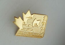 1997 New Brunswick Pin Nouveau Brunswick Lapel Souvenir Hat Pin
