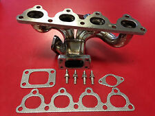 AMK Racing D15 D16 T3 T4 Turbo Manifold Civic Integra Stainless Steel D - series
