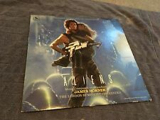 Aliens Sci-Fi Movie Soundtrack VINYL LP 1986 James Horner LONDON SYMP ORCHESTRA