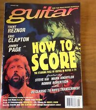 Guitar Practicing Musician January 1995 Clapton Jimmy Page Trent Reznor