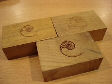 Cardas Golden Cuboids Myrtle Wood Blocks Set of 6 Large