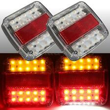 LED STOP REAR TAIL LICENSE PLATE LIGHTS INDICATOR LAMP UTE TRUCK TRAILER CARAVAN