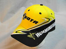 NWOT -MINN KOTA / HUMMINBIRD -HAT CAP - trolling motor graph bass fishing YELLOW