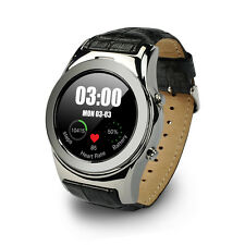 Waterproof Bluetooth Smart Watch SIM Phone For Android iPhone Samsung Silver USA
