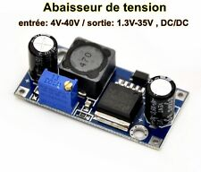 module électronique abaisseur de tension entrée: 4V-40V/sortie: 1.3V-35V , DC/DC