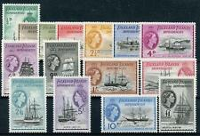 Falkland Islands Dependencies 1954-62 set SG G26/40 fine MLH cat £225