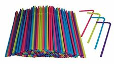 Hanamal Colored Disposable Flexible Drinking Straws 450pcs