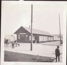 1915 OREGON WASHINGTON RAILROAD NAVIGATION CO. FREIGHT HOUSE O.W.R. & N. PHOTO