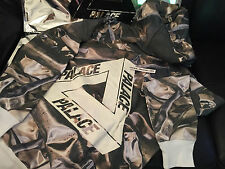PALACE SKATEBOARDS AW15 ALL OVER BENDS PIPE TRI FERG FLOCKA LARGE L HOODY CAMO