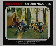 1978 HONDA CT90 CT70 Z50A New SALES BROCHURE Vintage Minibike Motorcycle Z50