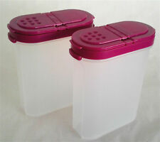 Limited Tupperware Modular Spice Shaker 250ml In Purple(2) Free Shipping
