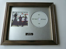 SIGNED/AUTOGRAPHED MILES KANE -DON'T FORGET WHO YOU ARE FRAMED PRESENTATION.RARE
