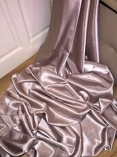 "1 MTR CHAMPAGNE CREPE BACK LINING SATIN FABRIC...58"" WIDE (NEW IN STOCK)"