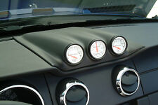 2005-2009 Ford Mustang 3-Hole Gauge Pod - Paintable - Classic Design Concepts
