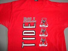 RARE NCAA Vintage BEST  ROLL TIDE Alabama Crimson Tide College tShirt Adult L