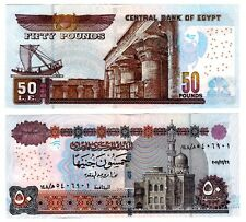 Egypt 2011 Uncirculated 50 Pounds Note