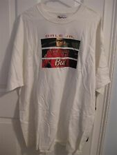 DALE EARNHARDT JR. #8 BUDWEISER TWO-SIDED T-SHIRT SIZE XL NEW CHASE AUTHENTICS