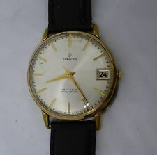 Gent's Vintage SERVICES RICOH 19 Jewels Hand Winding Mechanical Wristwatch
