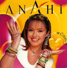 ANAHI Anclado En Mi Corazon CD NUEVO new & Sealed ex REBELDE RBD includes REMIX