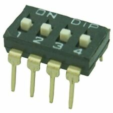 Low Profile DIL / DIP Switch 2 Way