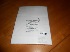 New The Company Store Style E5L5 Queen Size Flat Sheet White Micro Cotton Oxygen