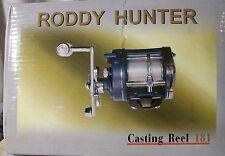 Roddy Hunter 181 Trolling Casting Reel NEW IN BOX 460 YDS 18LB