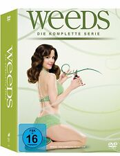 WEEDS 1-8 DIE KOMPLETTE SERIE SEASON STAFFEL 1 2 3 4 5 6 7 8 DVD DEUTSCH