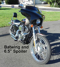 Memphis Shades Batwing Fairing Kit Mounts Windshield XL Sportster