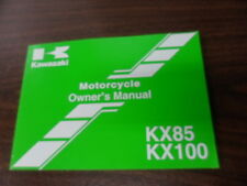 Kawasaki Factory  Owner's Manual KX85 KX100 99987-1238