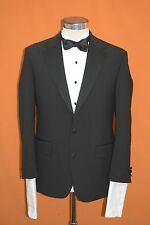 Mens M&S Tailoring Black Dinner Suit  44R W36 L33