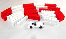24 Tire barriers for your HO Slot Car Layout scenery AFX Tyco your choice colors