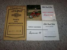 1964 Harley Davidson Aermacchi 250cc Sprint H Owner User Rider Manual ORIGINAL