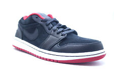NWB Nike Air Jordan 1 Low Retro BRED Black Red Men's Size 9 NEW RARE