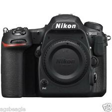 "Nikon D500 Body 20.9mp 3.2"" DSLR Digital Camera Brand New Cod Agsbeagle"