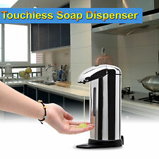 Stainless Steel IR Sensor Touchless Motion Activated Soap Dispenser For Bathroom